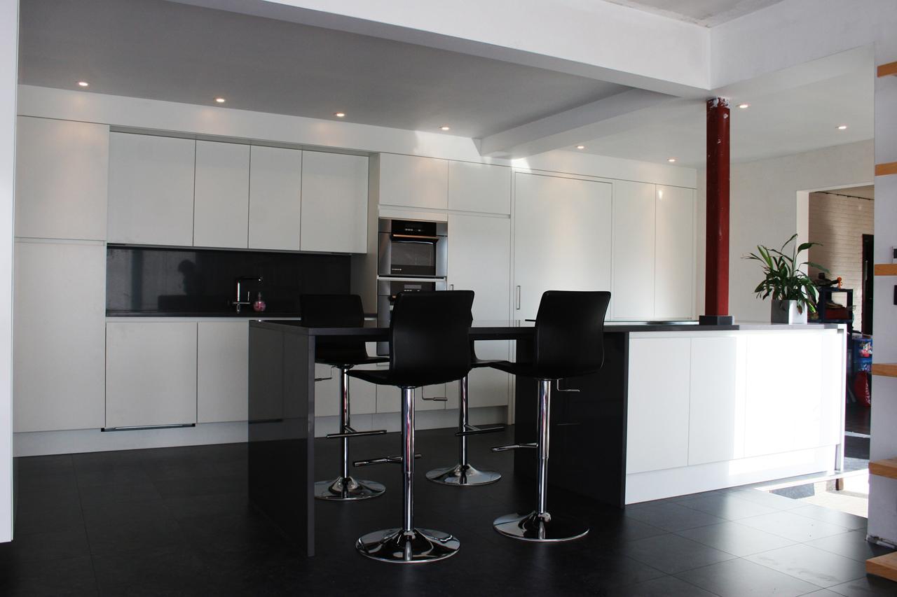 Moderne Open Keukens : Open keuken affordable moderne halfopen keuken with open keuken